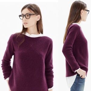 Madewell assembly pullover in merino wool sweater